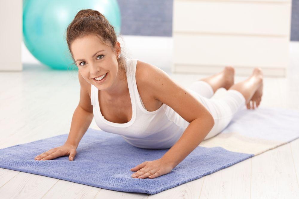 упражнения при остеохондрозе поясницы