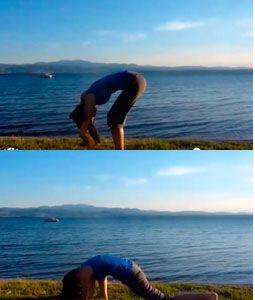 """Упражнение """"Медитация"""" при лордозе"""
