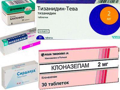 Миорелаксанты, используемые при лечении межрёберной невралгии