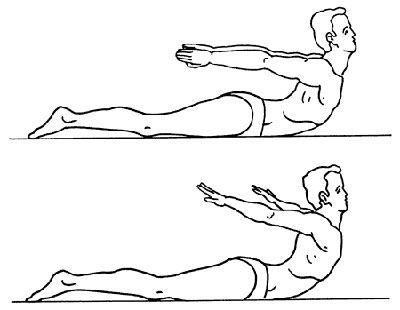 Стандартные упражнения для взрослых для улучшения осанки