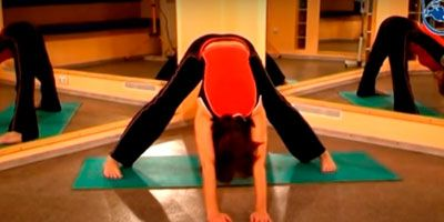 """Упражнение """"Наклон"""" для грудного отдела при межрёберной невралгии"""