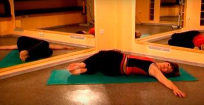 """Упражнение """"Скрутки"""" для грудного отдела при межрёберной невралгии"""