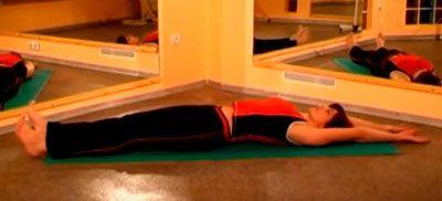 """Упражнение """"Вытяжка"""" для грудного отдела при межрёберной невралгии"""