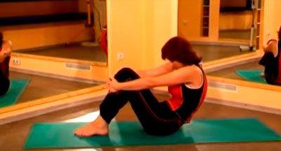 """Упражнение """"Растяжка"""" для грудного отдела при межрёберной невралгии"""