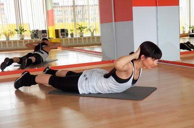 Упражнение на укрепление мышц поясничного отдела при люмбоартрозе