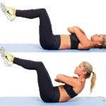 Упражнение на укрепление мышц спины в поясничном отделе при люмбоартрозе
