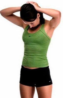 Упражнение на укрепление мышц шейного отдела при цервикоартрозе