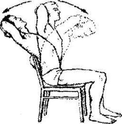 Упражнение на растяжение мышц спины при дорсартрозе
