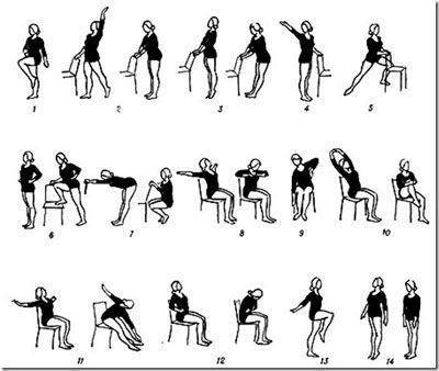 Комплекс упражнений на осанку с картинками