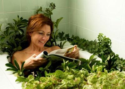 Лечение травяными ваннами