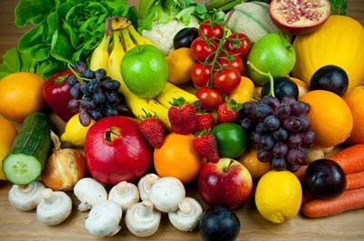 Свежие овощи фрукты
