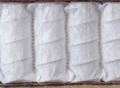 Пружины у правильного матраса спрятаны в матерчатый мешочек