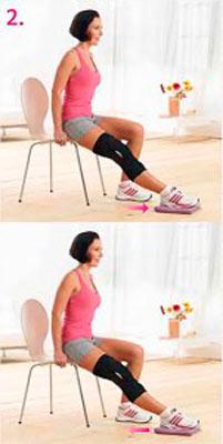 Сгибание коленного сустава