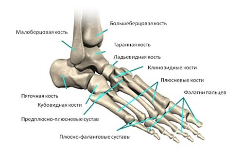 Болит нога в районе стопы сбоку
