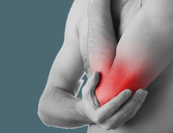 Мышечная боль в локтевом суставе при сгибании и разгибании
