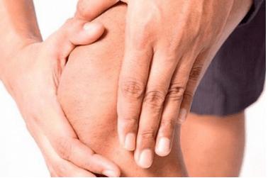 Как снять отек коленного сустава