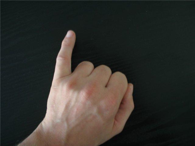 Болит средний палец на руке при сгибании