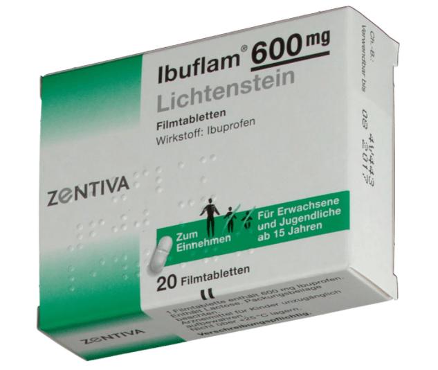 Ibuflam 600 lichtenstein