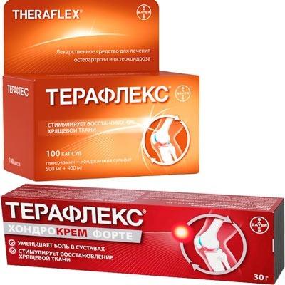 Терафлекс и крем