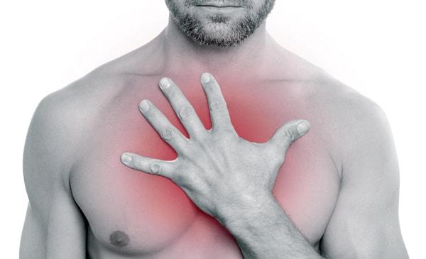 Боль в пищеводе и в груди при глотании